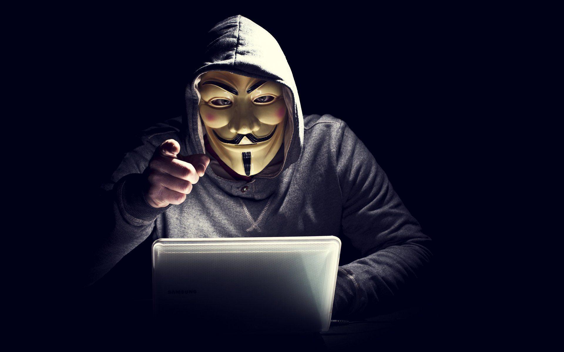 Hacker Mask Wallpapers - Wallpaper Cave