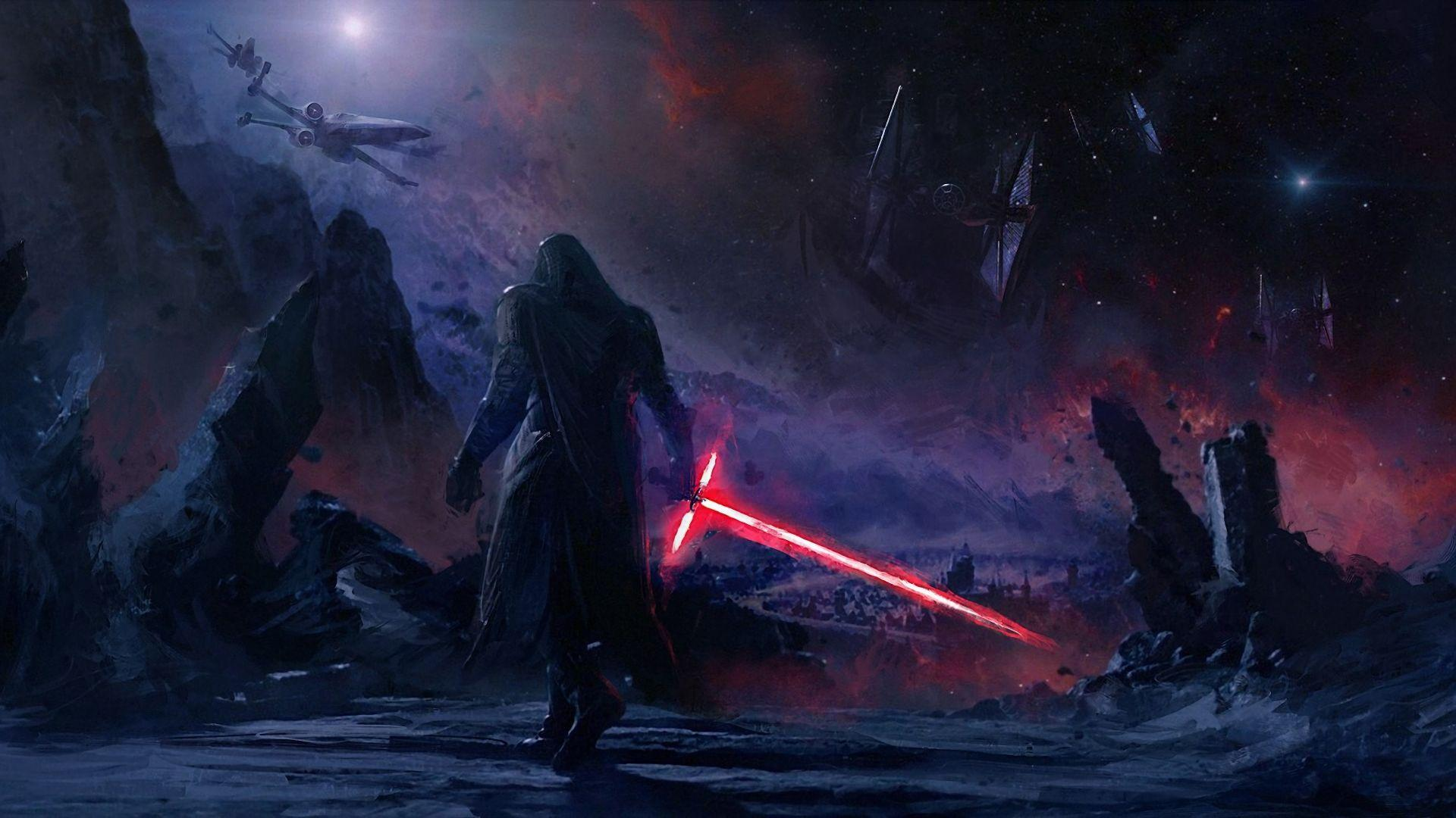 Download Kylo Ren Star Wars Art 1280x960 Resolution, Full HD Wallpapers