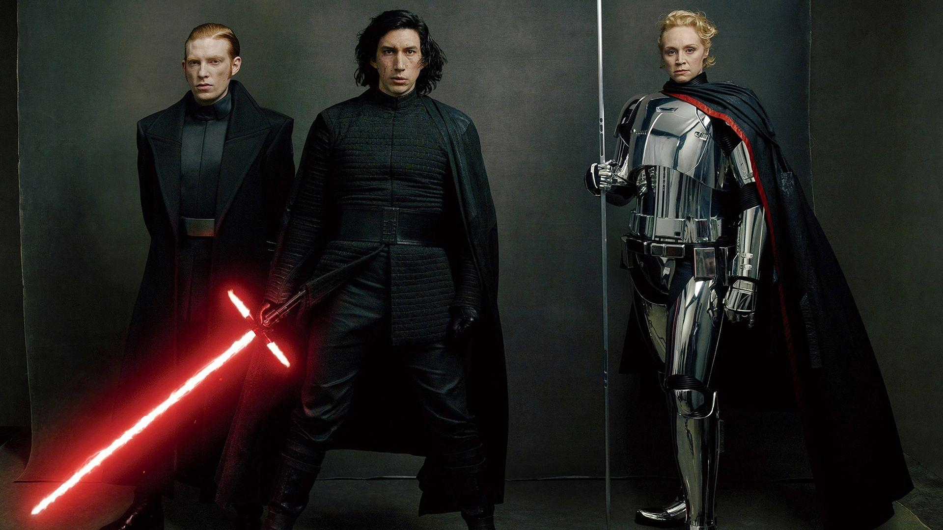 HD Kylo Ren, Captain Phasma, General Hux Star War...