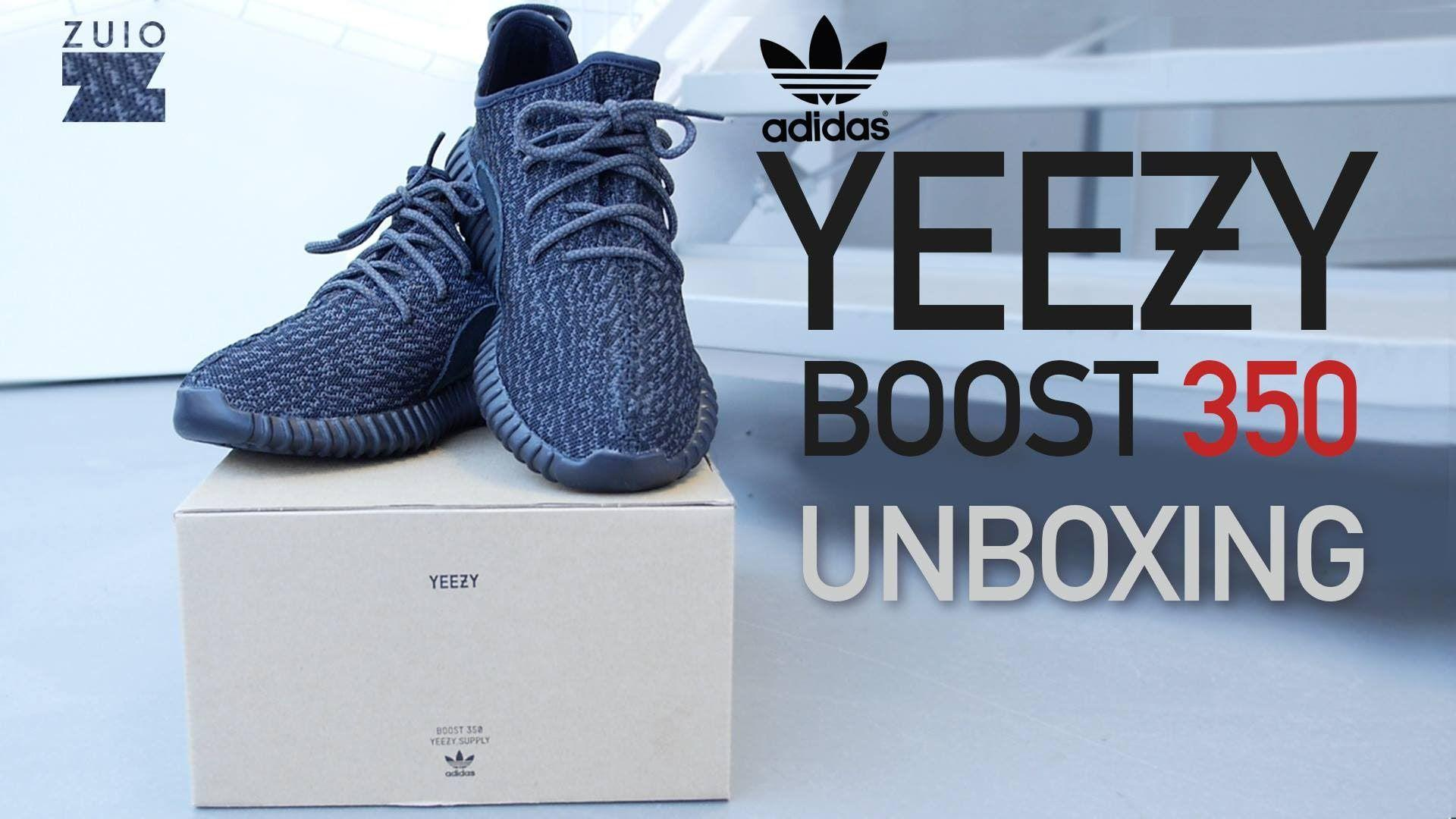 timeless design 2fe08 a9397 Adidas Yeezy Boost 350 Pirate Black - UNBOXING - YouTube