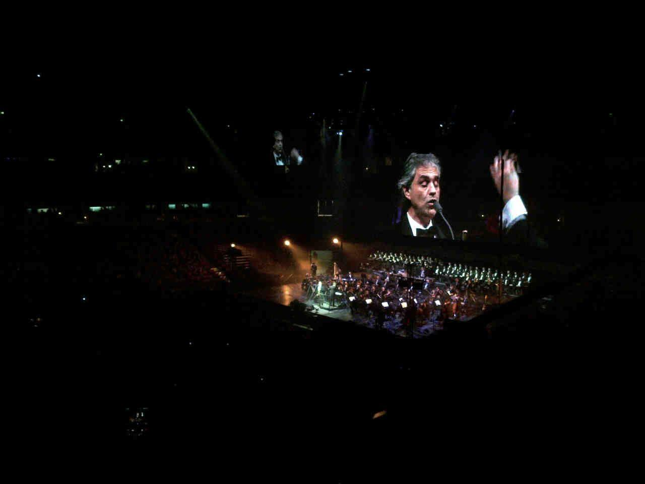 Andrea Bocelli image Andrea Bocelli in Concert HD wallpapers and