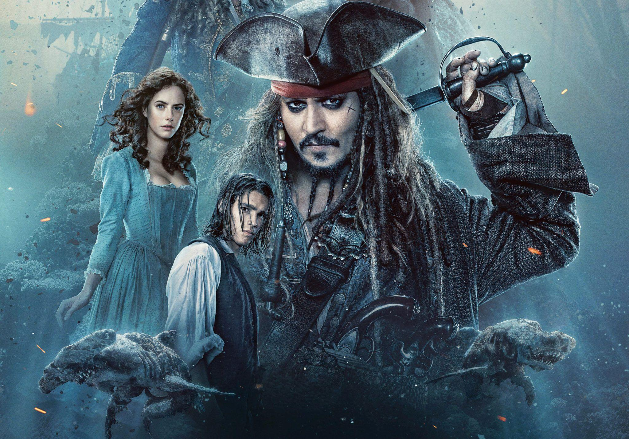 Pirates Of The Caribbean Dead Men Tell No Tales Wallpapers
