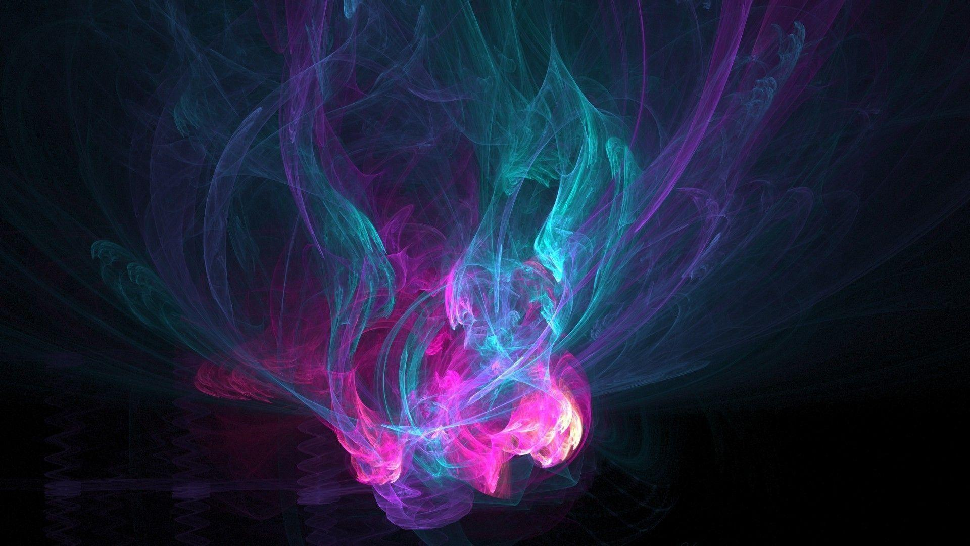 Photo Collection Colored Smoke Wallpaper