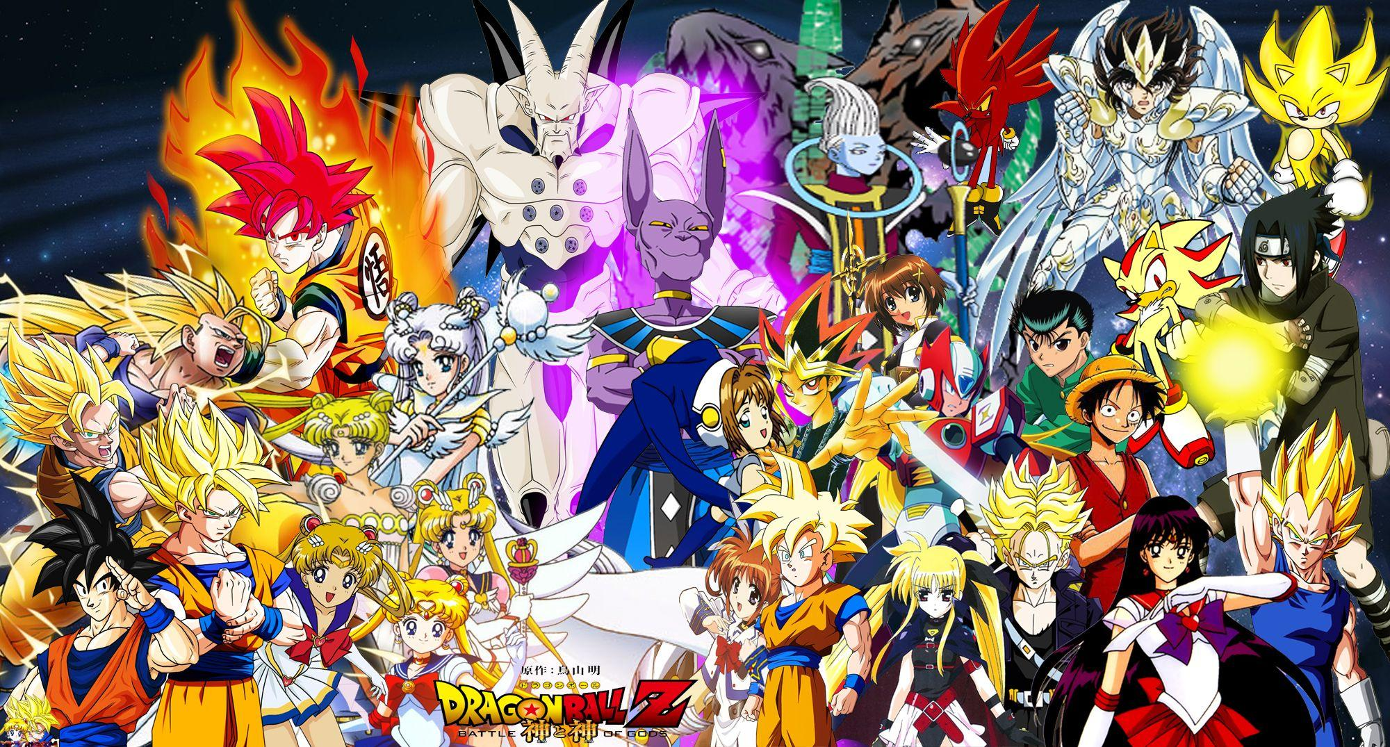 Dragon ball super all gods wallpapers wallpaper cave - 3d wallpaper of dragon ball z ...