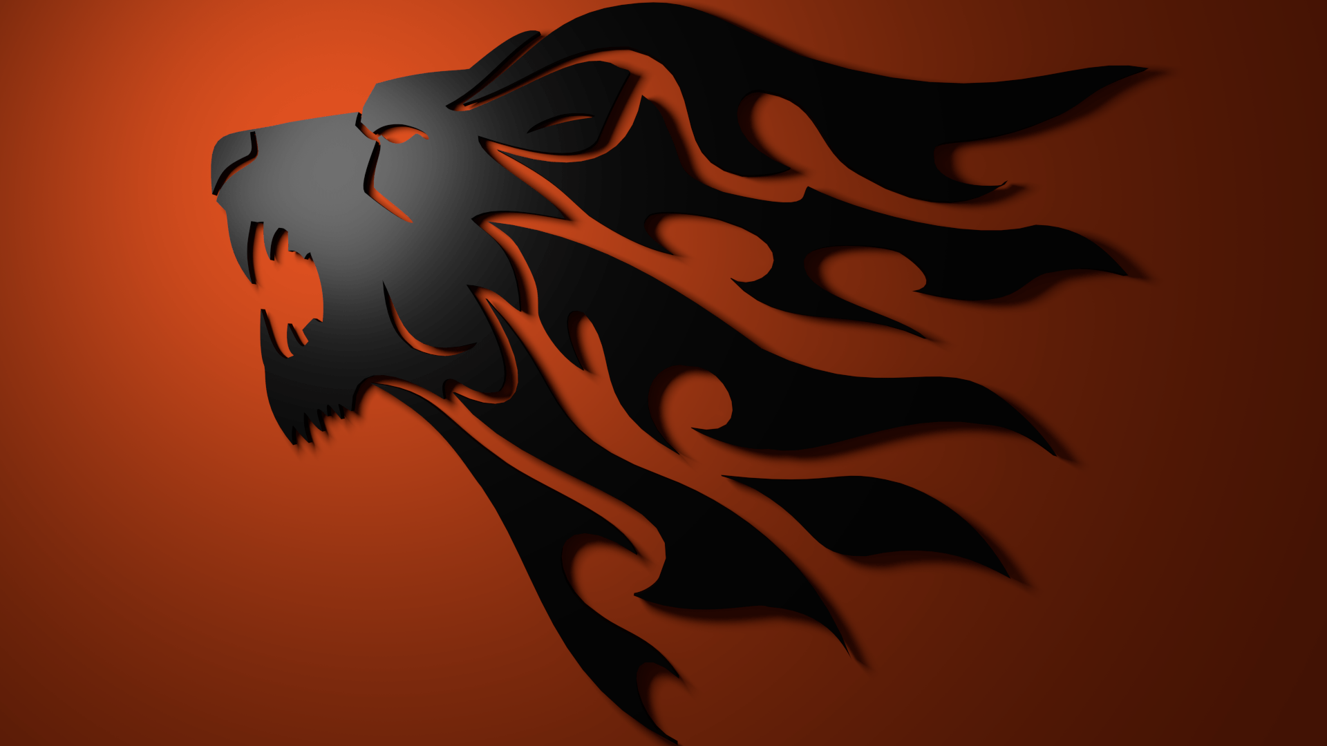 Photo Collection Lion Logo Wallpaper