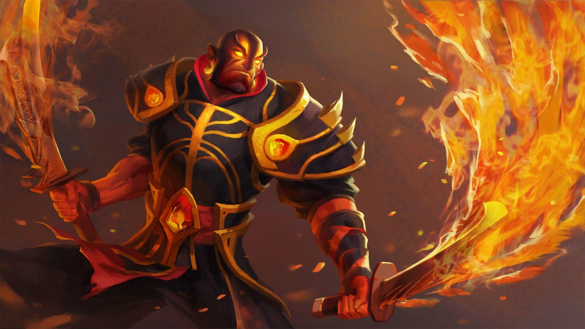 Elegant Gambar Ember Spirit Dota 2 Wallpapers 4 Game Review