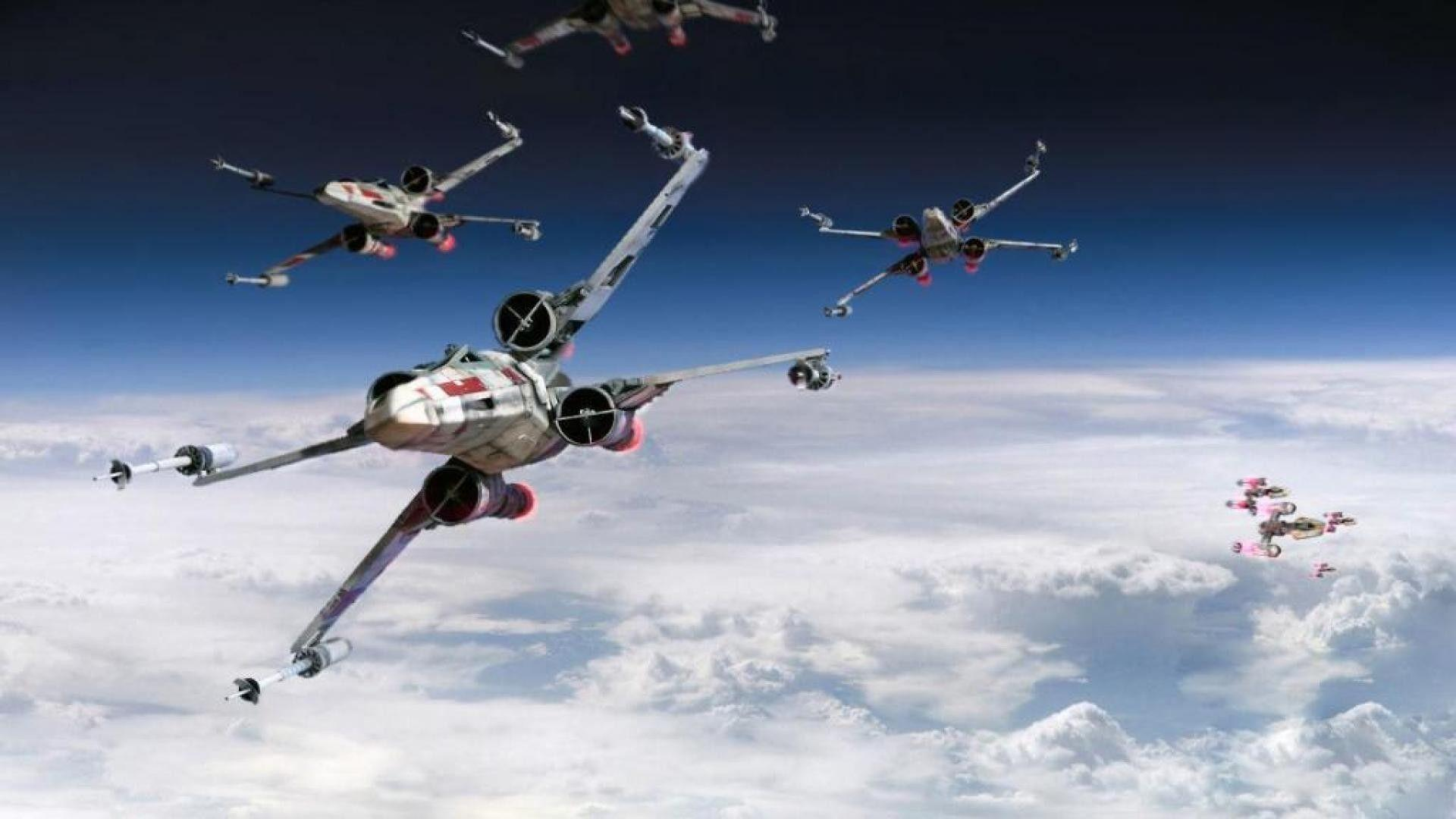 X Wing Starfighter Wallpapers Wallpaper Cave