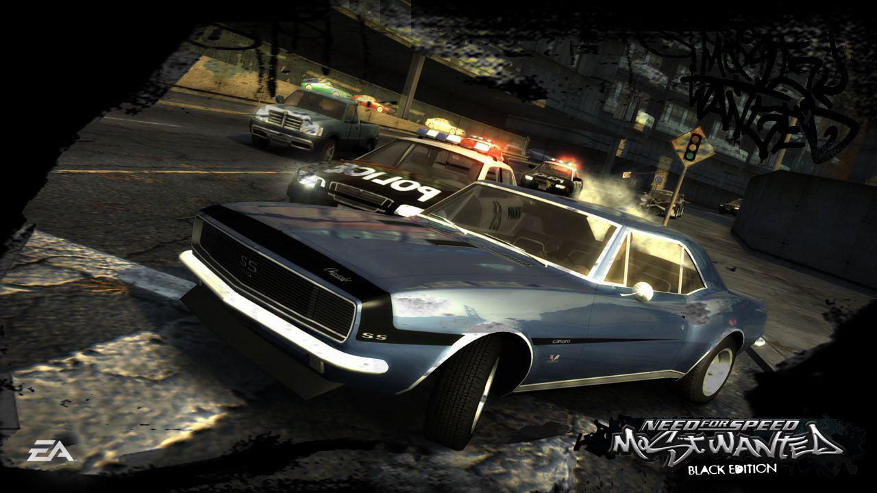 Nfs Most Wanted Black Edition Wallpapers Wallpaper Cave