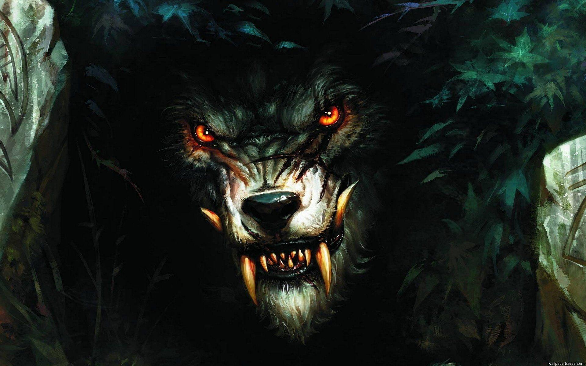 Horror Wolf Wallpapers - Wallpaper Cave