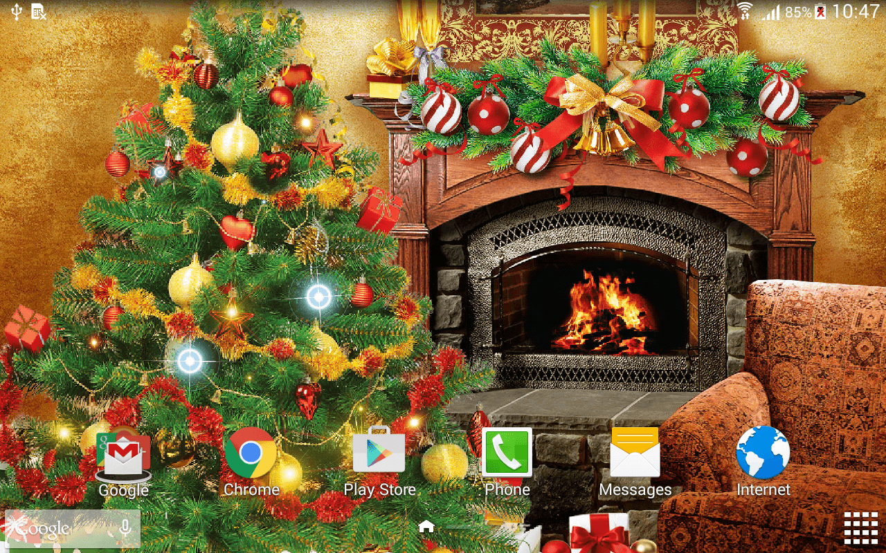 Animated Christmas Wallpapers Wallpaper Cave