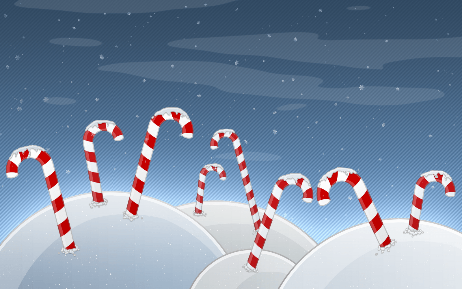 Christmas Candy Cane Wallpapers [HD]