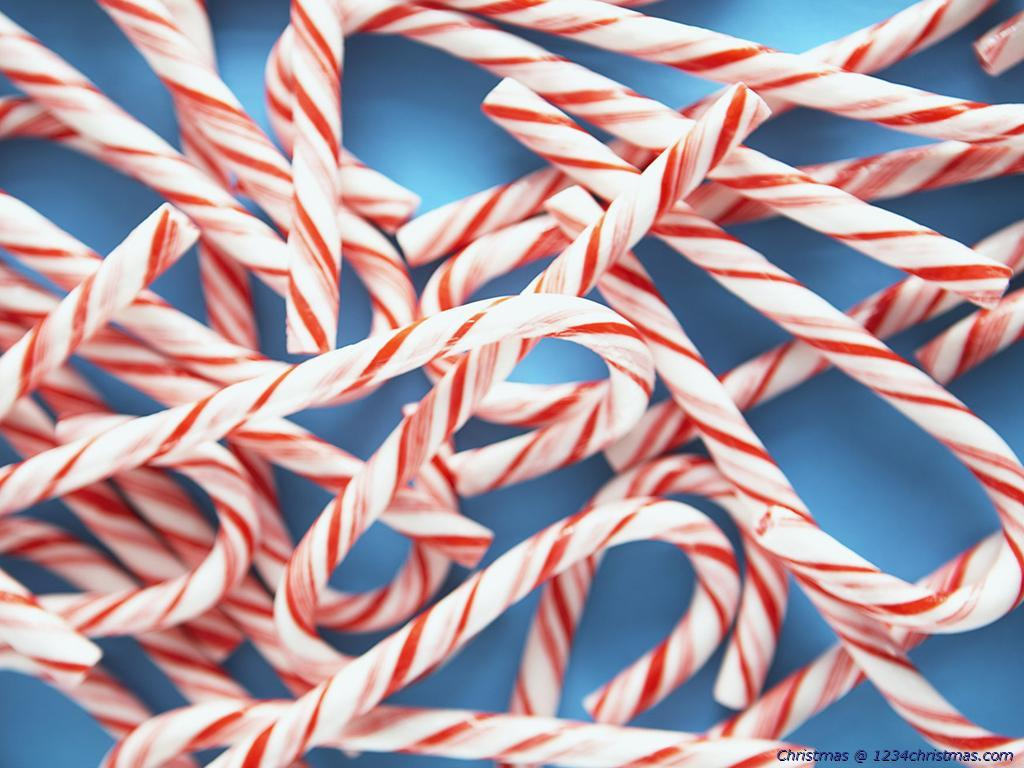 Christmas Candy Cane / Candy Wallpapers for Download