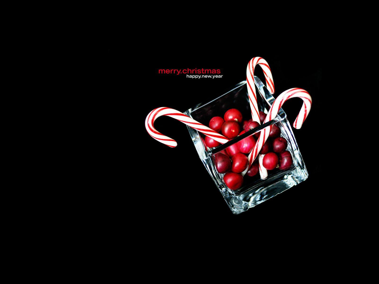Free Christmas Wallpapers: Christmas Candy Cane Wallpapers