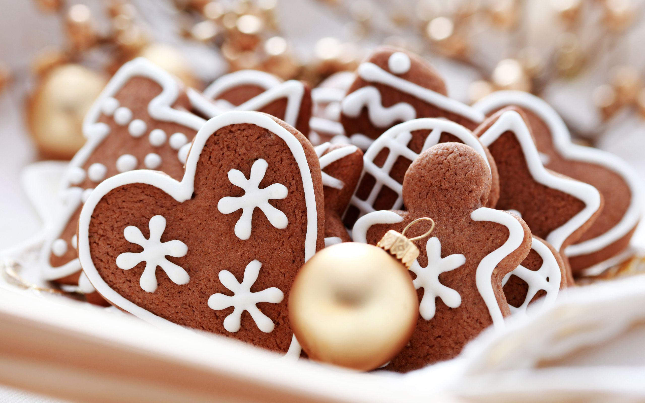 Christmas Cookies Computer Wallpaper - Wallpaper, High Definition ...