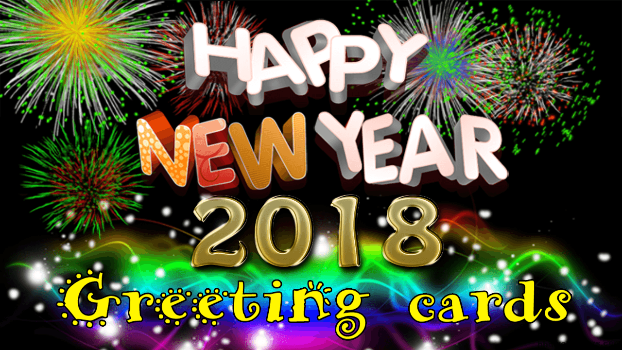 happy new year 2018 greetings wallpaper download hd wallpapers
