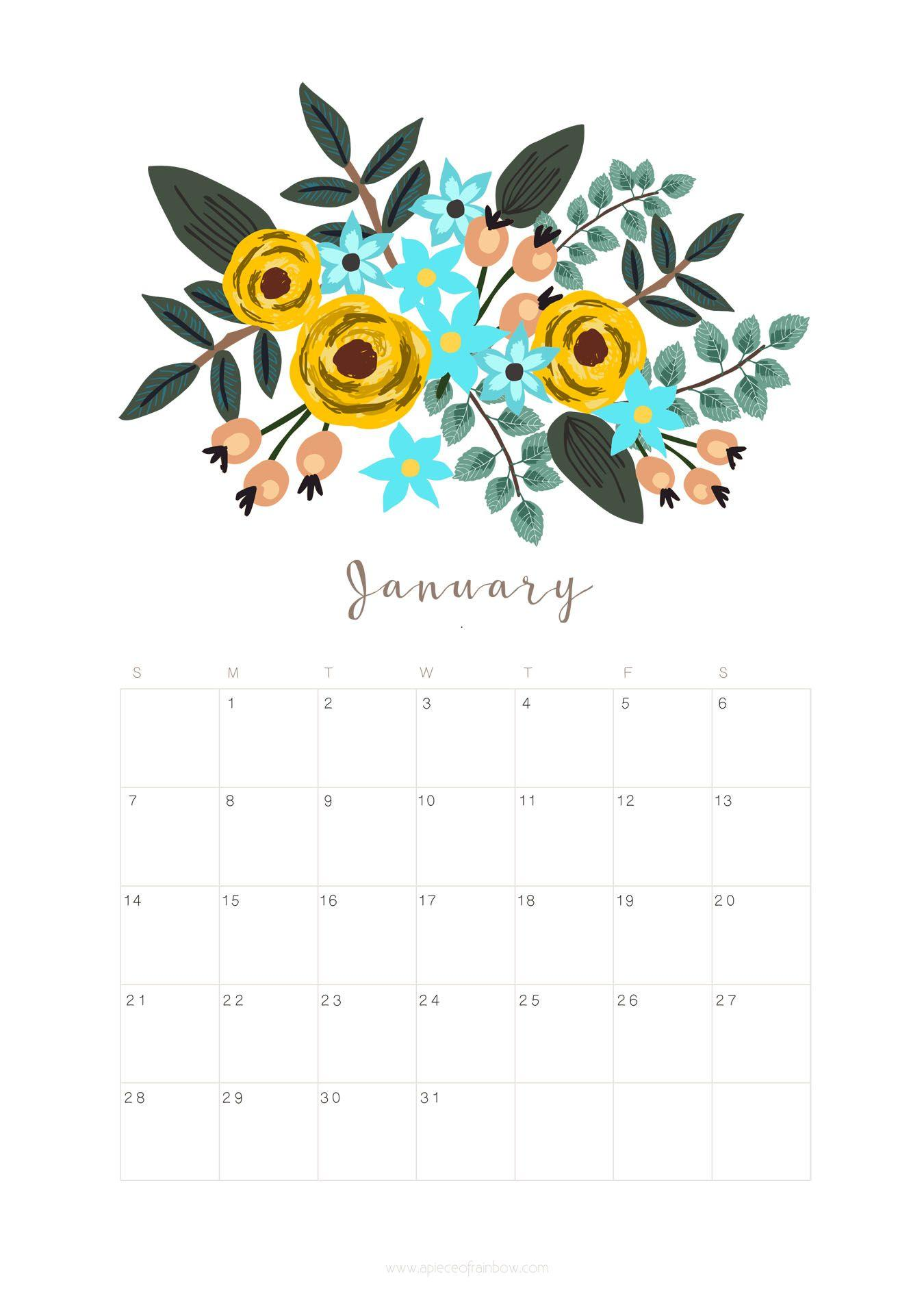 Calendar Design Wallpaper : January calendar wallpapers wallpaper cave