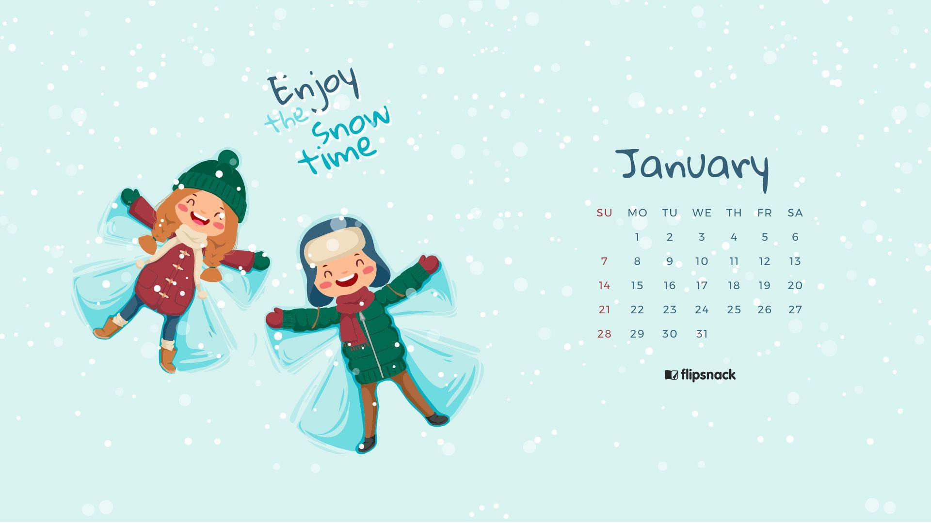 January 2018 Calendar Wallpapers  Wallpaper Cave