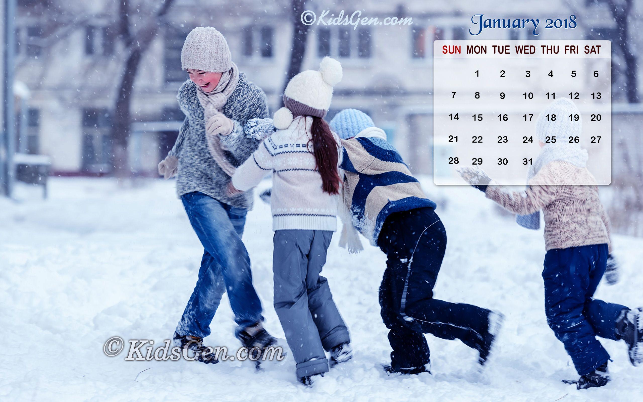 Calendar Wallpaper January : January calendar wallpapers wallpaper cave