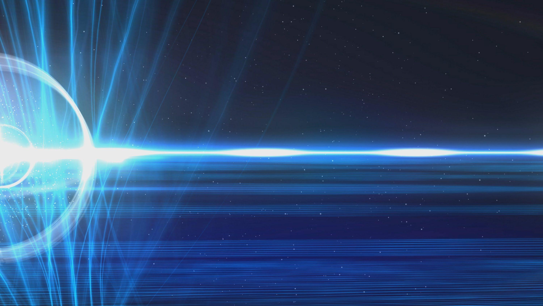 60fps Dark Blue Strings Of Light Halo Effect Motion: Light Effect HD Wallpapers