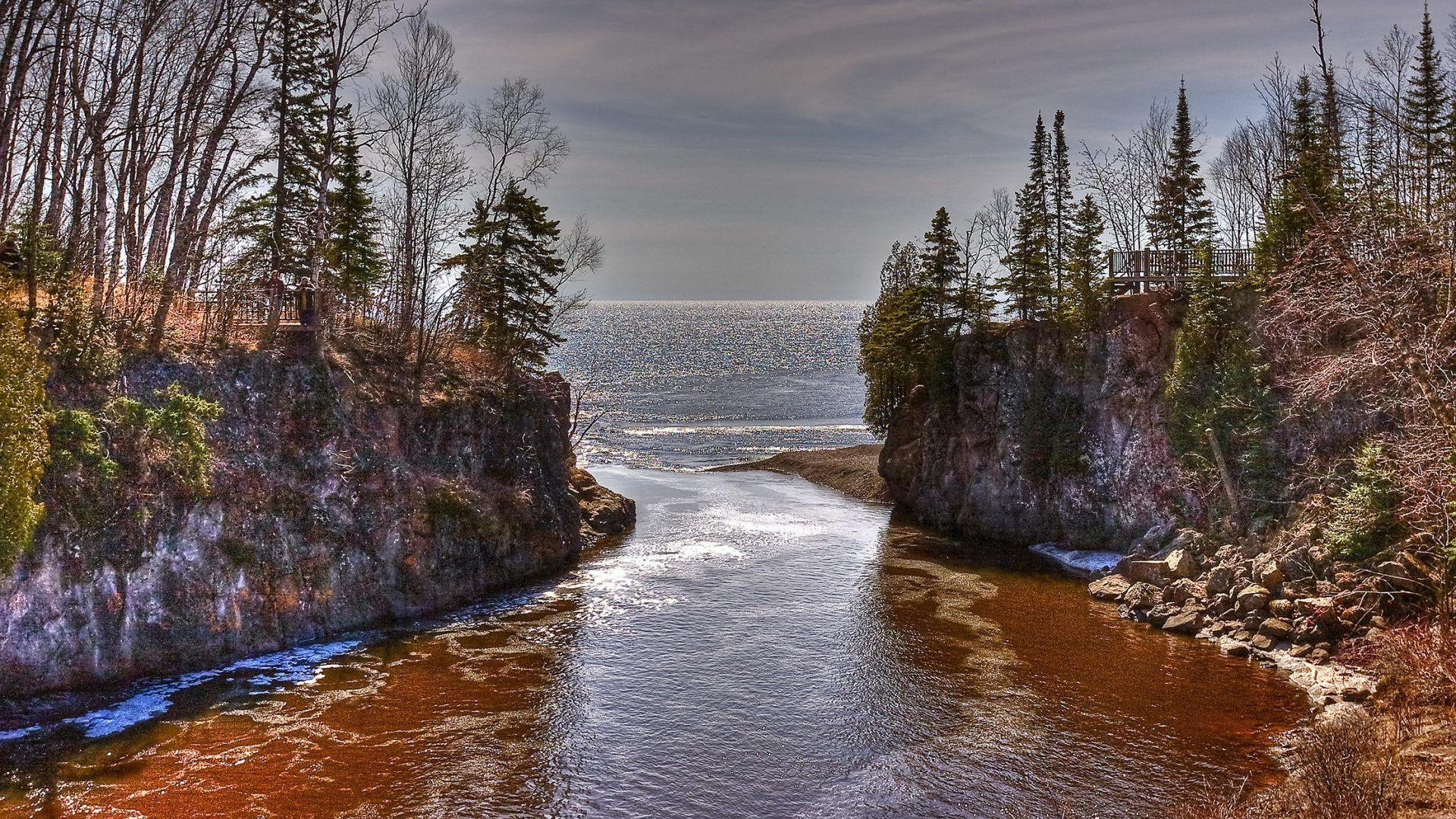 Temperance Tag wallpapers: Usa Temperance State River Trees Stream