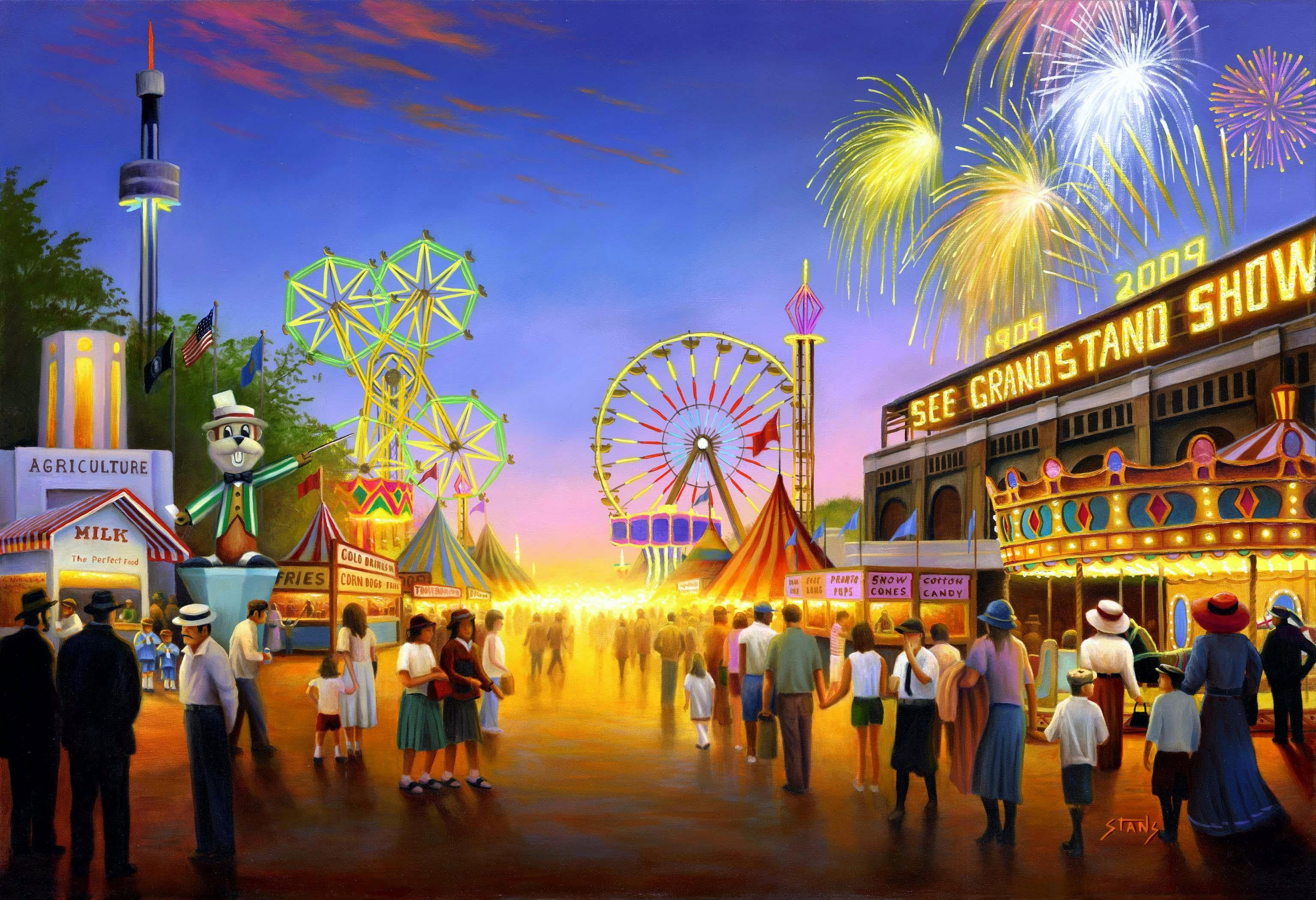 Wallpapers Minnesota, Minnesota state fair, Fair, Art HD, Picture