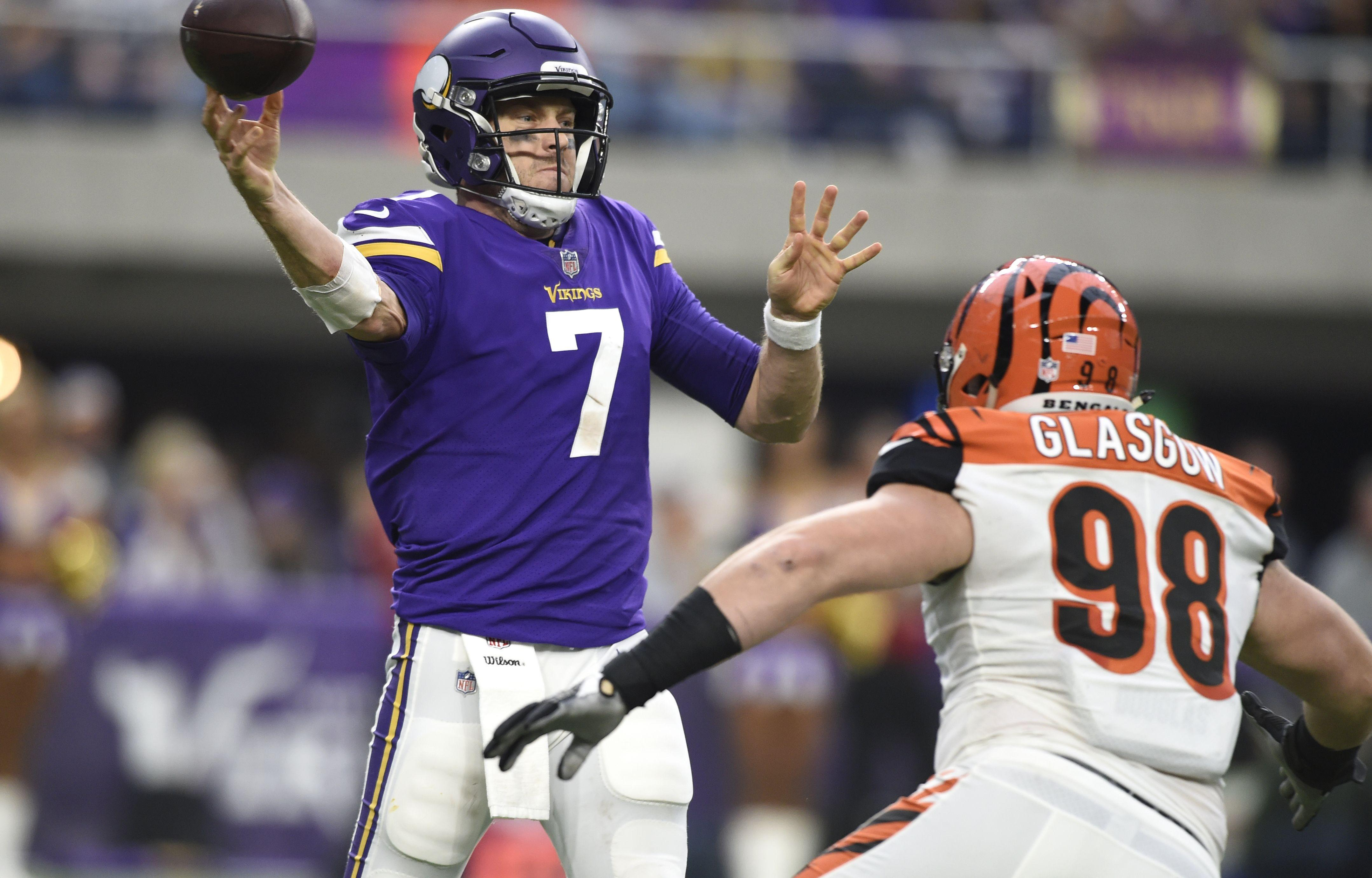 Case Keenum is going to make a bunch of money in 2018