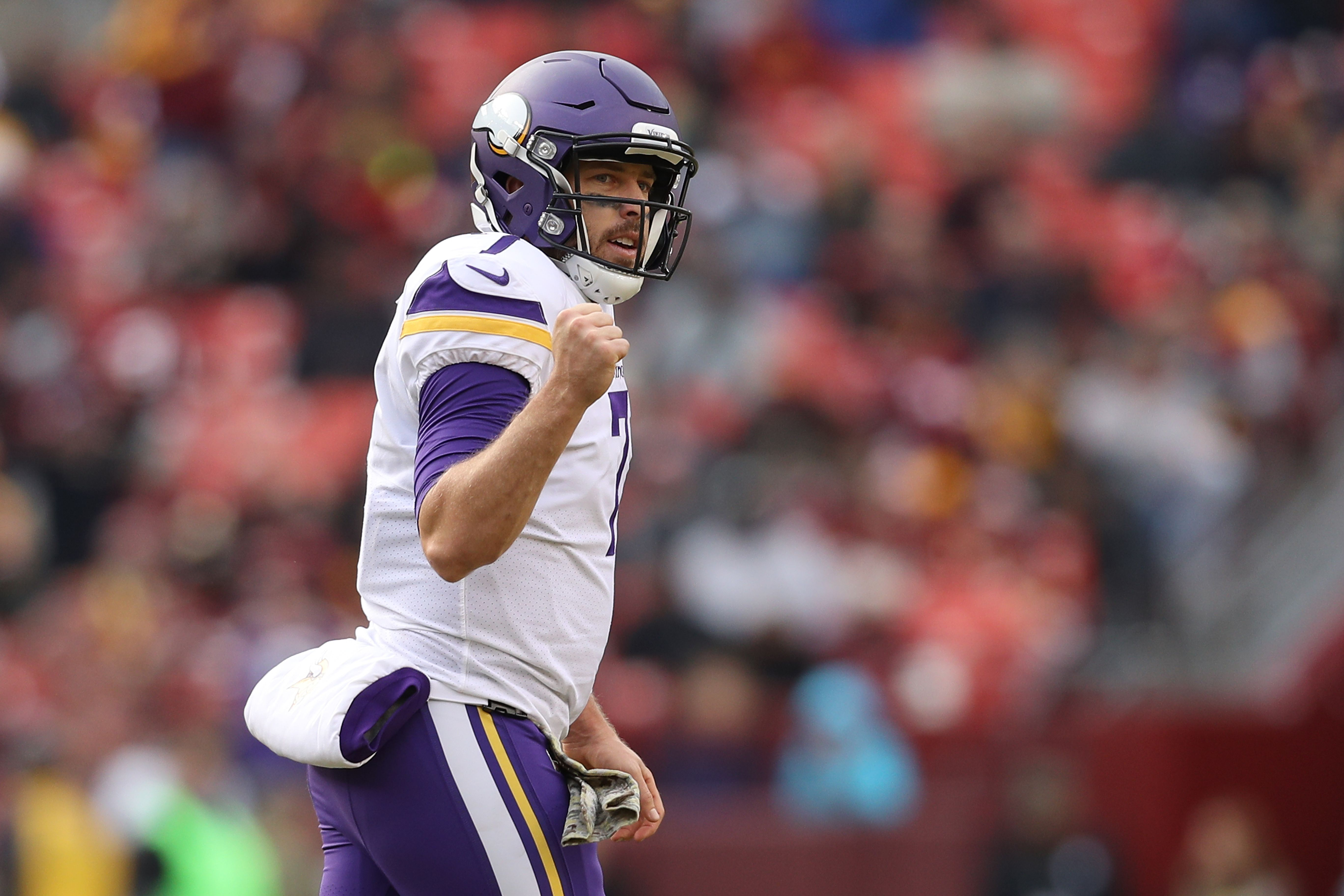 Keenum named FedEx Air Player of the Week after performance vs ...