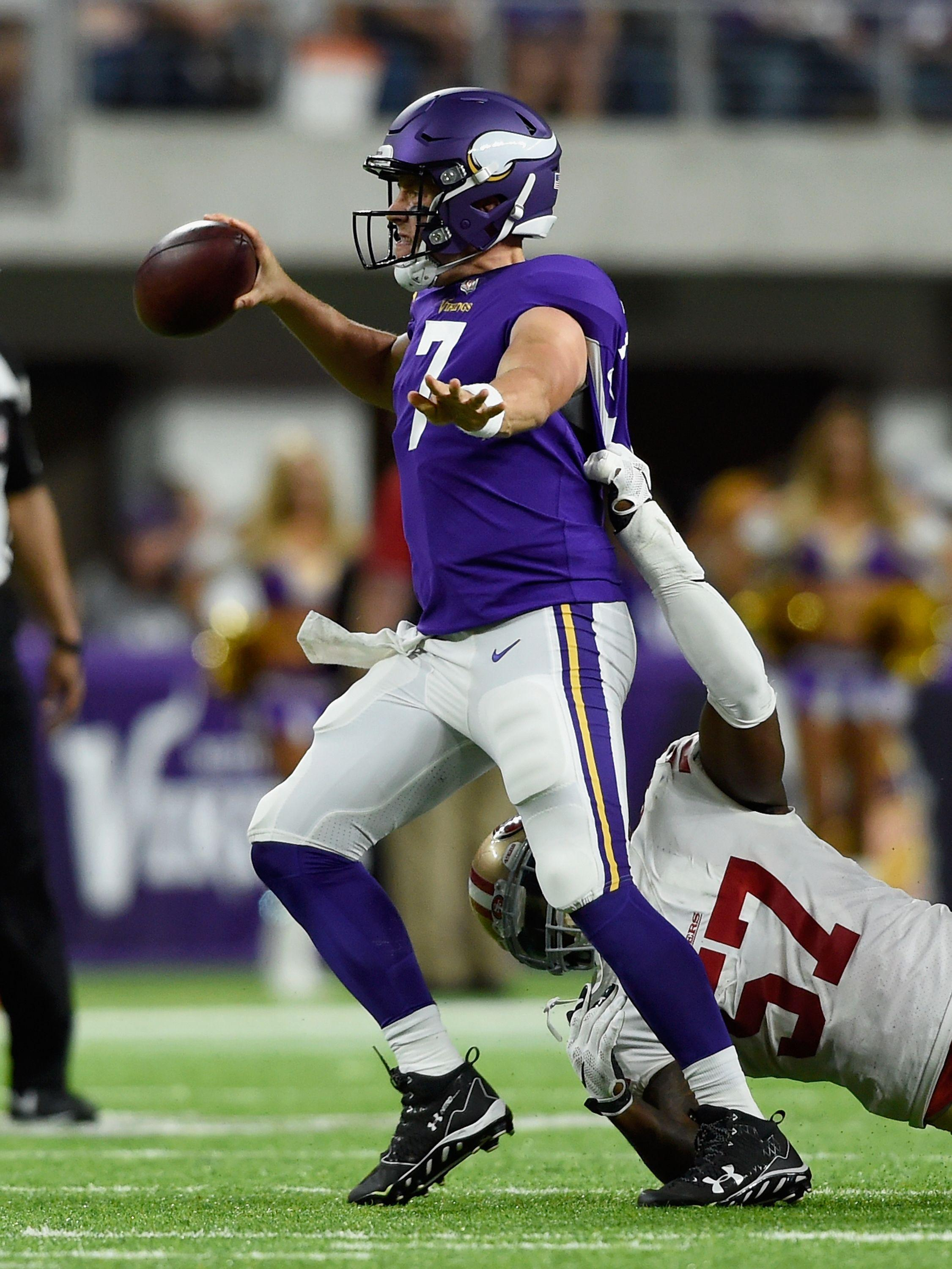 Vikings QB Case Keenum named to PFF Preseason Week 3 Team
