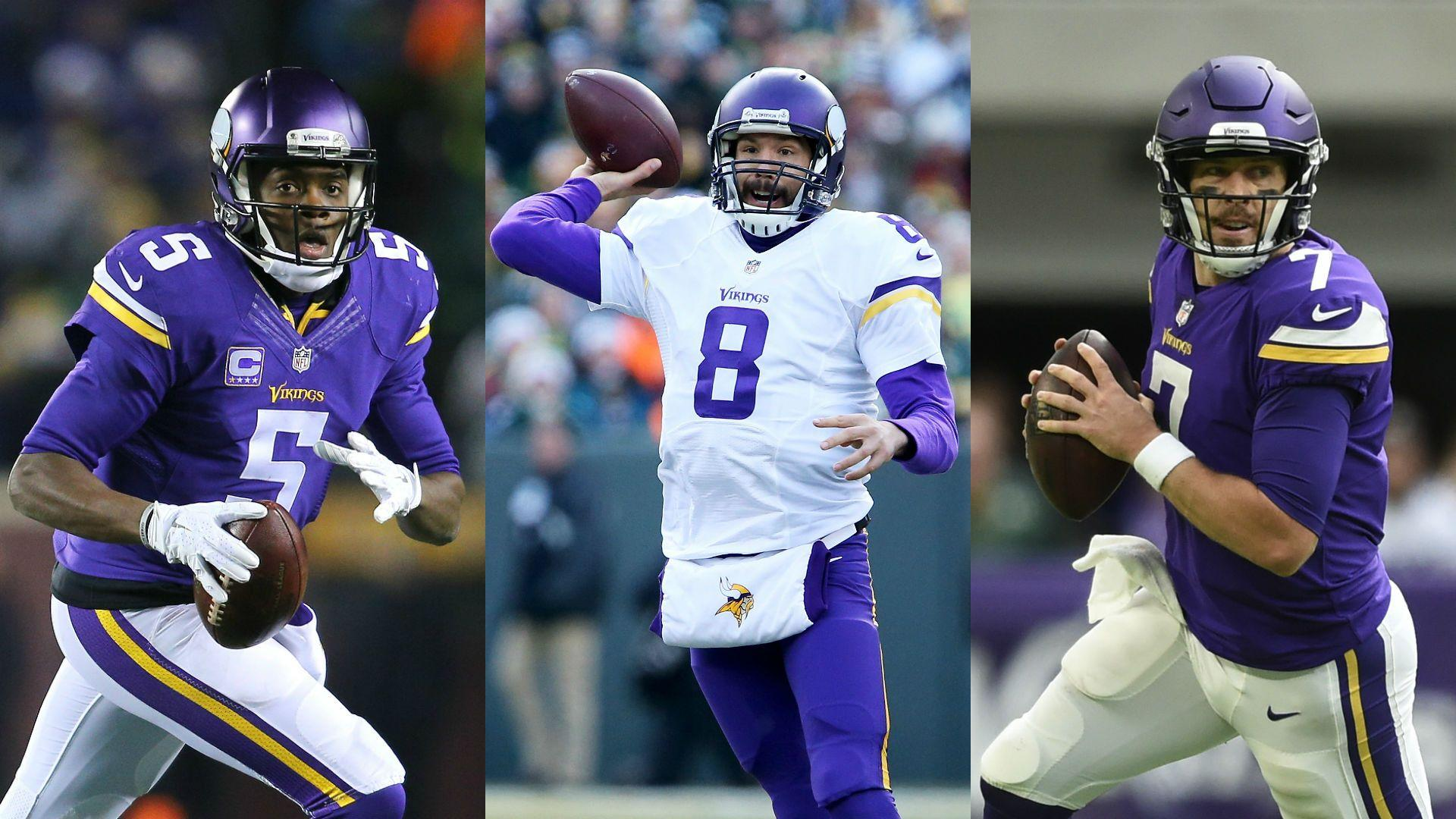 Navigating Vikings' QB quandary with Bridgewater, Bradford and ...