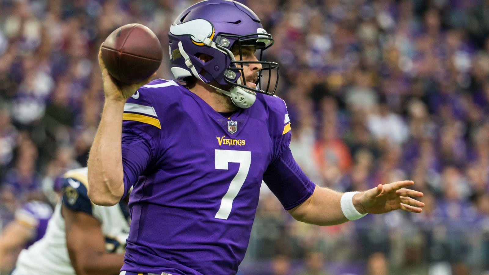 Case Keenum will start against Lions on Thanksgiving | Yardbarker.com