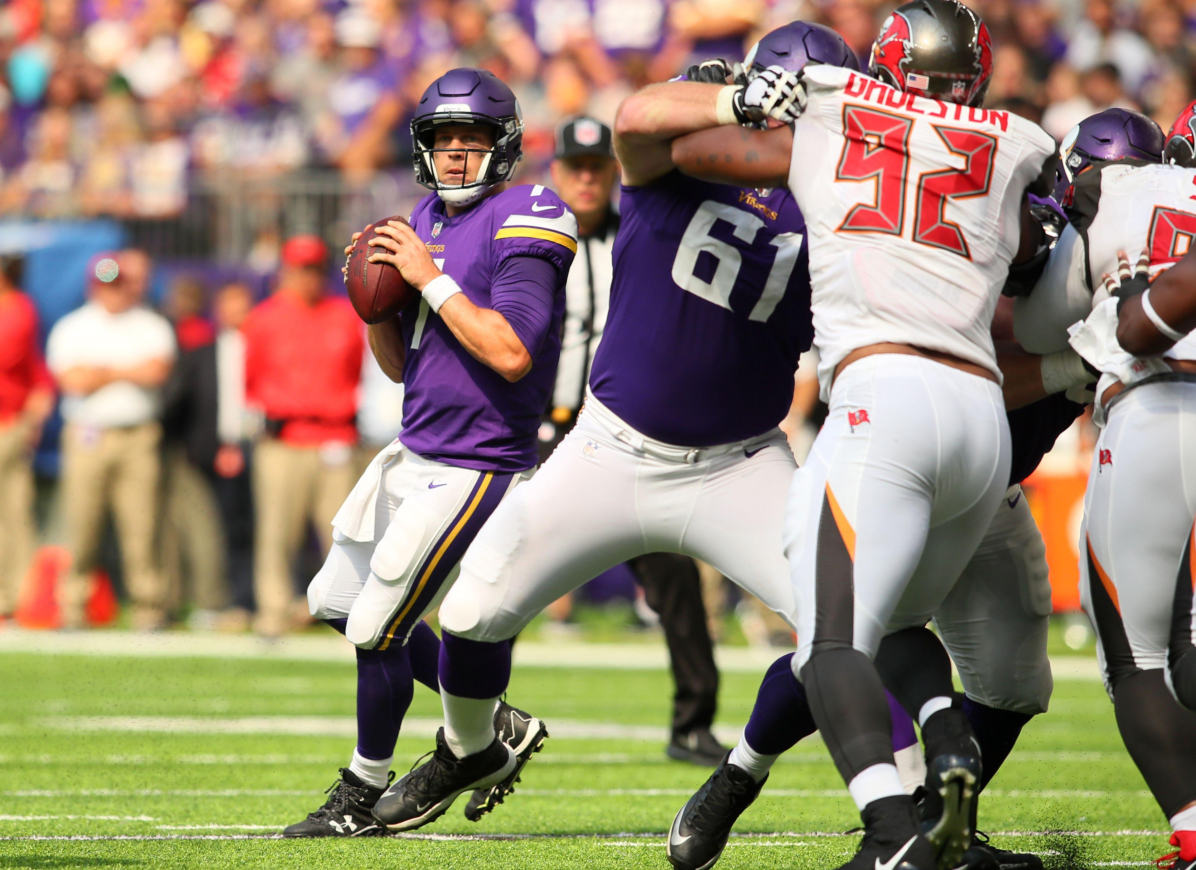 Which version of Case Keenum will the Minnesota Vikings get in Week 4?