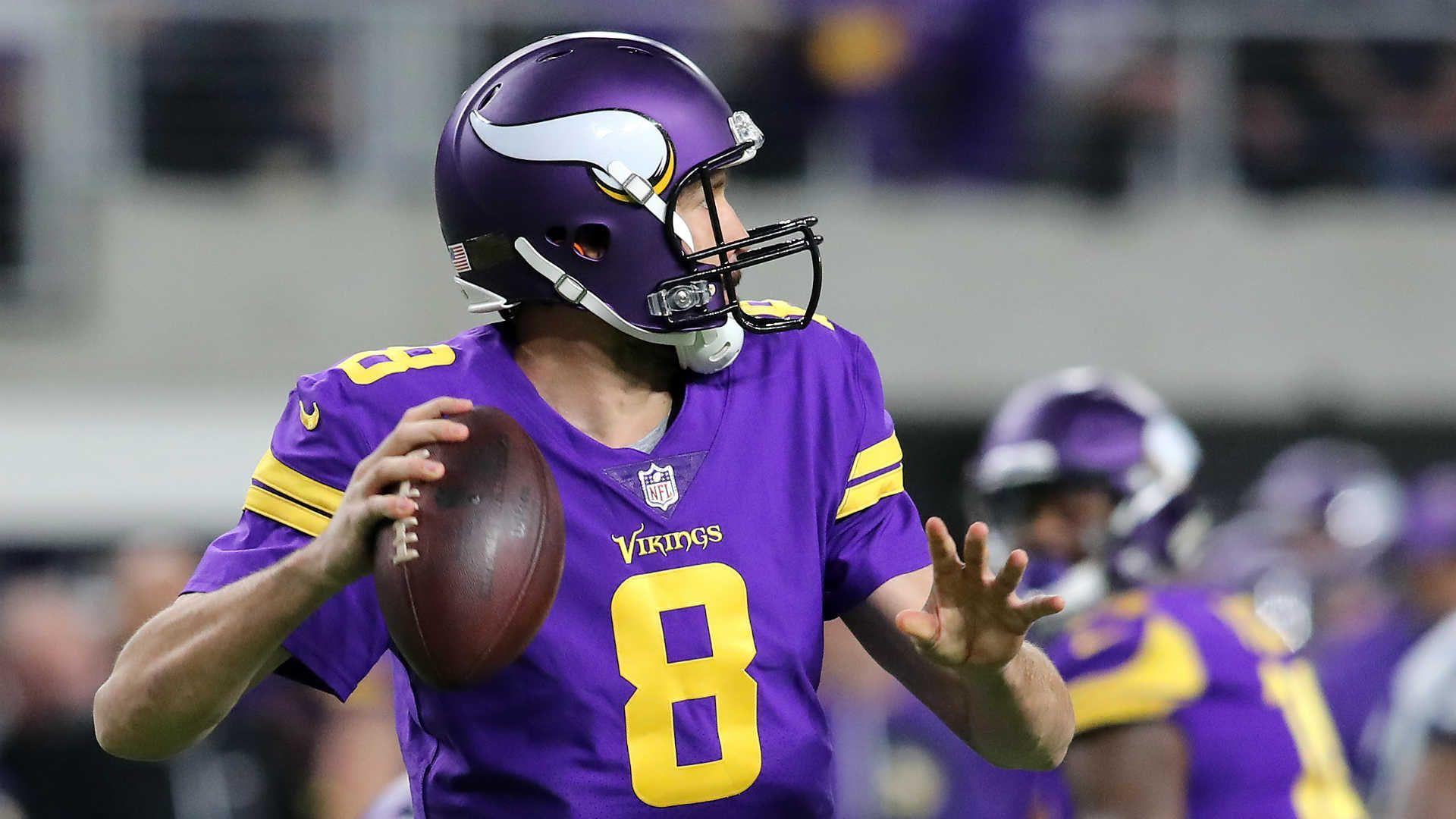 Vikings' Sam Bradford out, Case Keenum to start versus Steelers ...