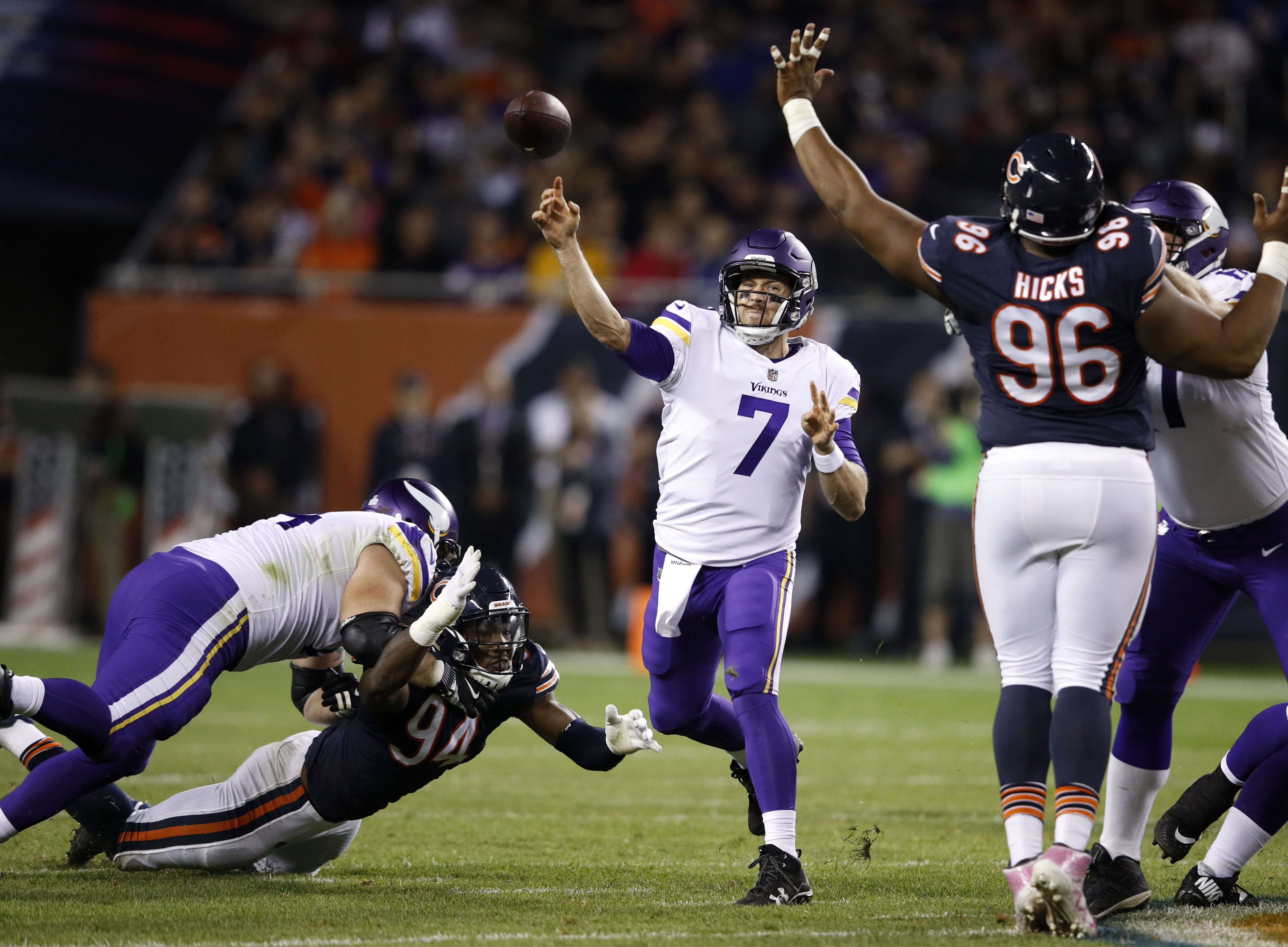Schmidt's Week 5 game grades: Minnesota Vikings vs. Chicago Bears