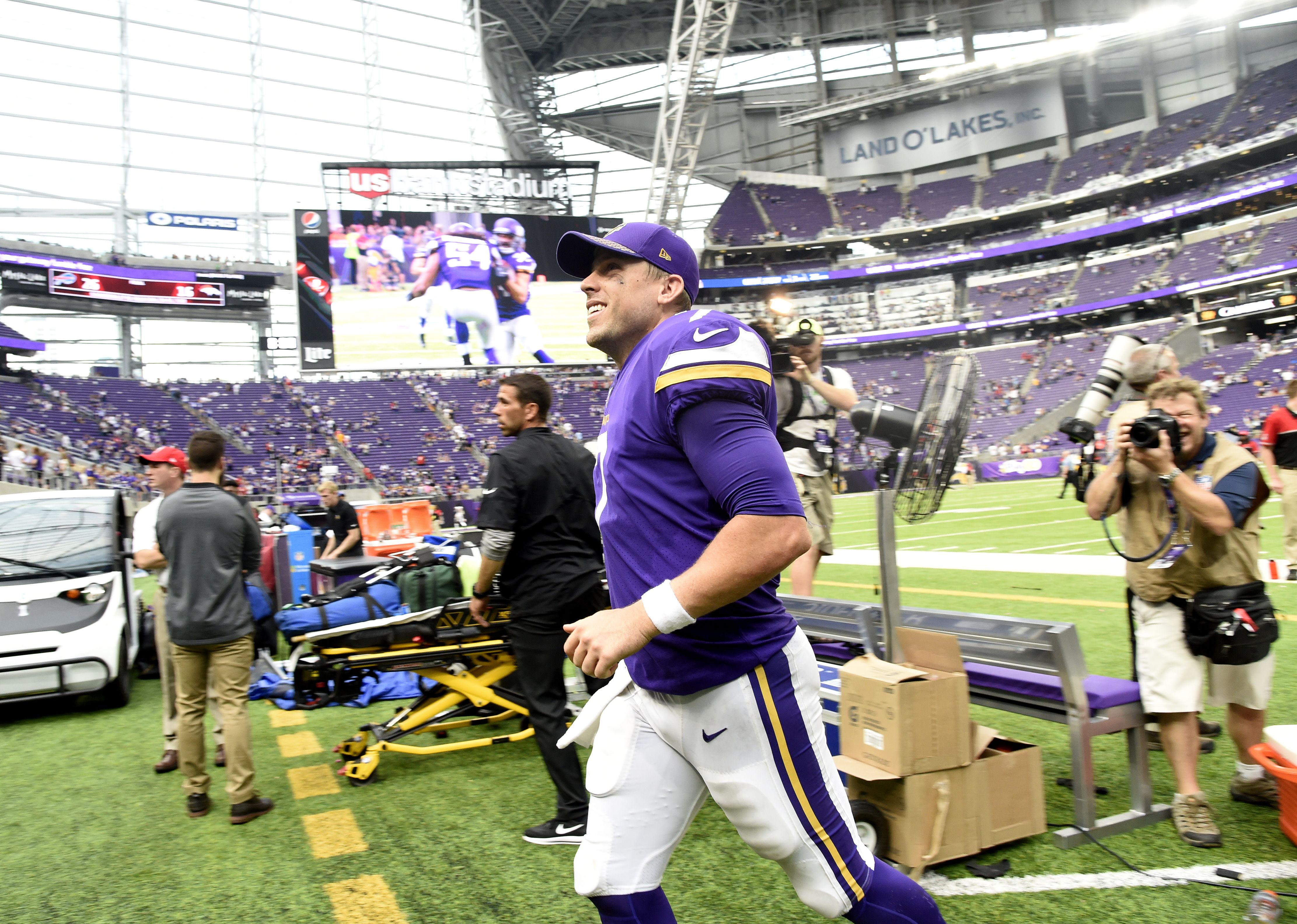 The Minnesota Vikings do not have a quarterback controversy, at ...