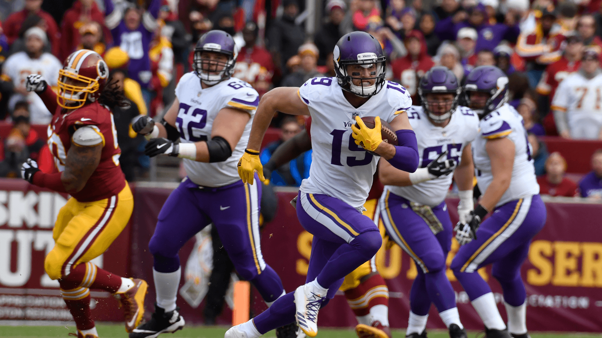 Redskins can't cool down red-hot Case Keenum; outgunned by Vikings