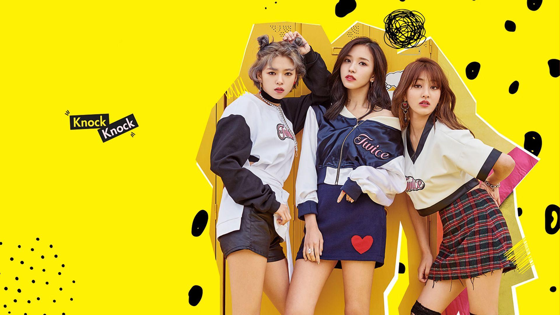 TWICE Knock Knock Jungyeon Mina Jihy... Wallpaper #27858