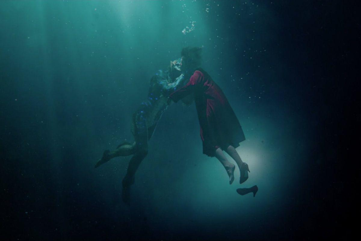 The Shape of Water, from Guillermo del Toro, is a beautiful adult