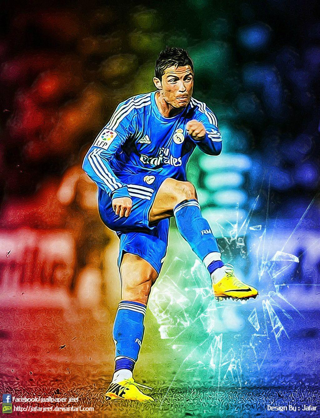 Cristiano Ronaldo Real Madrid 2014 By Jafarjeef On DeviantArt