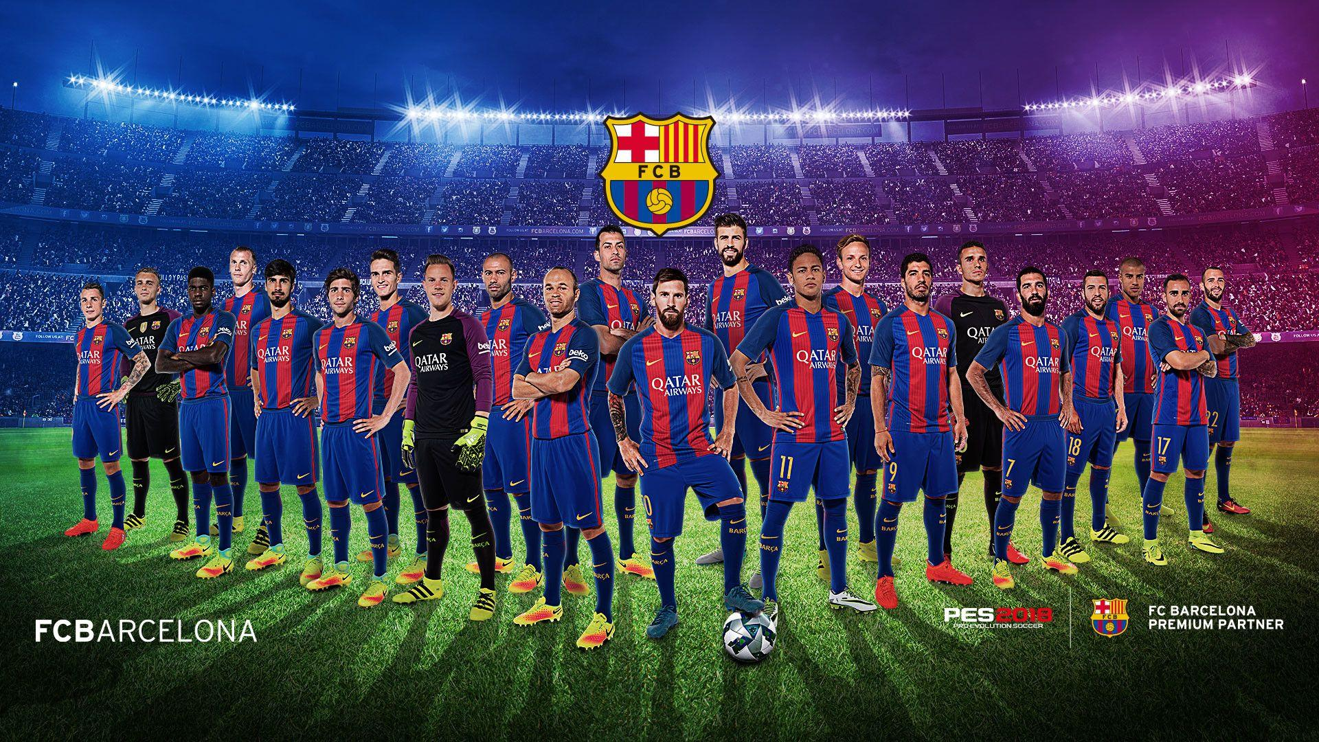 FC Barcelona 2018 Wallpapers Wallpaper Cave