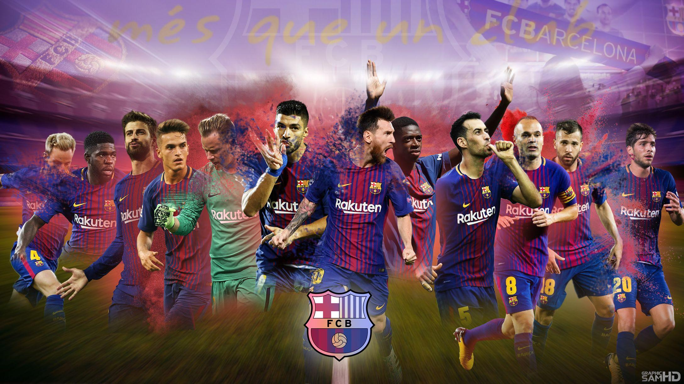 FC Barcelona 2018 Wallpapers - Wallpaper Cave