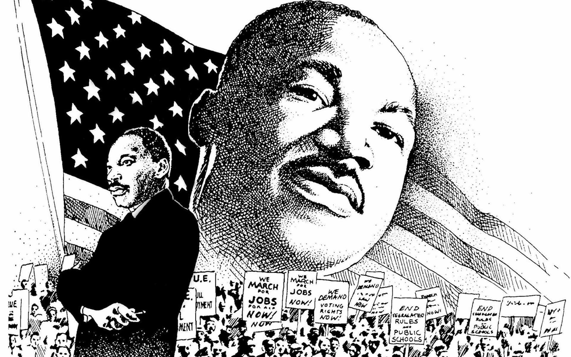 Martin Luther King Jr Day Wallpapers - Wallpaper Cave