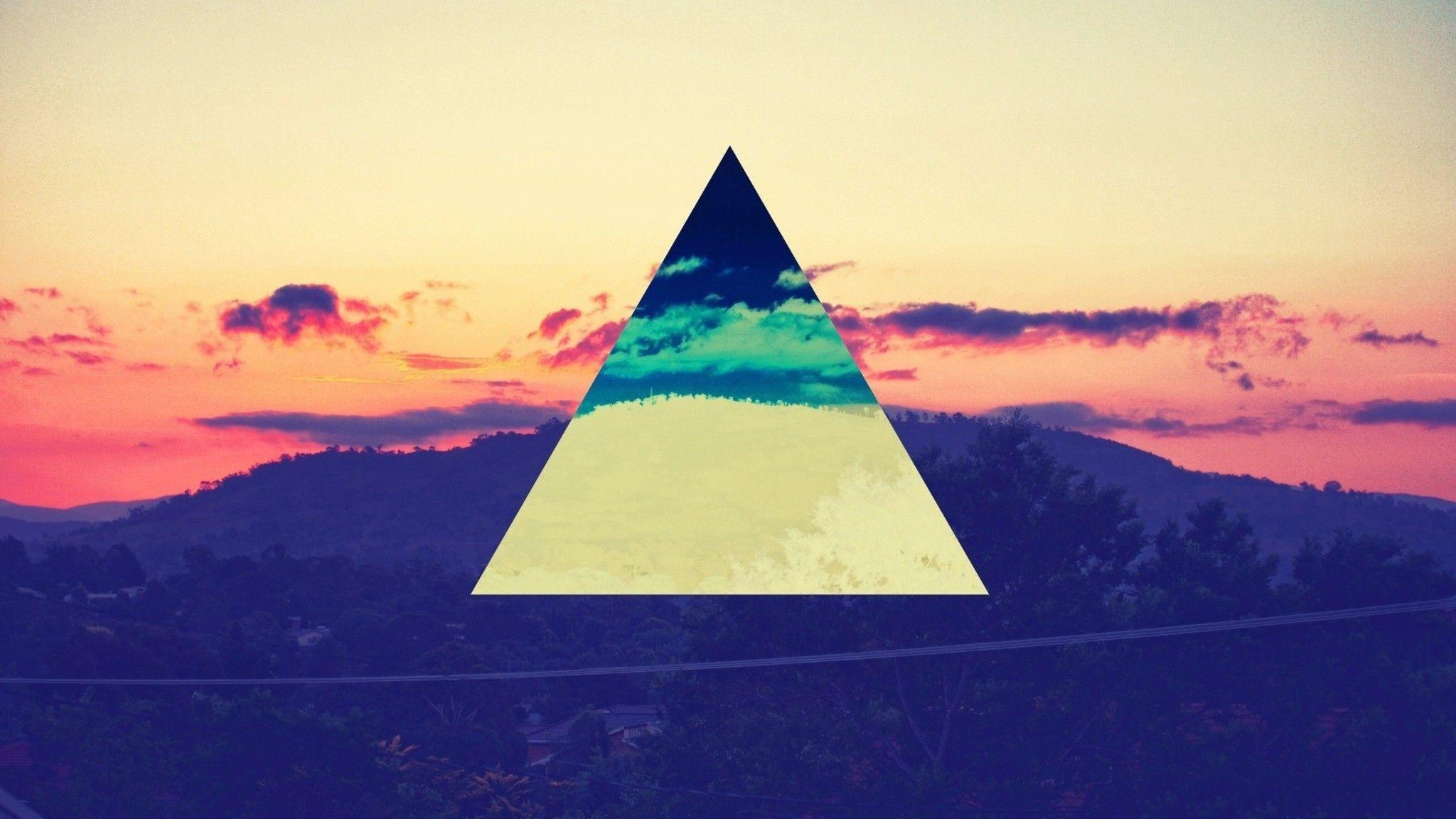 Artwork colors triangles wallpapers