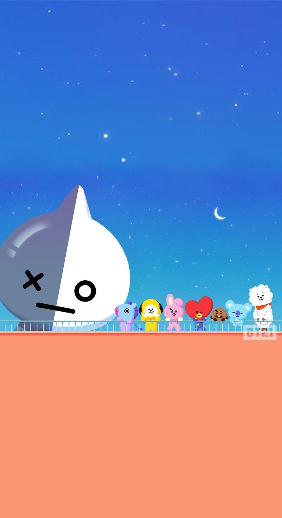 BT21 Wallpapers Wallpaper Cave
