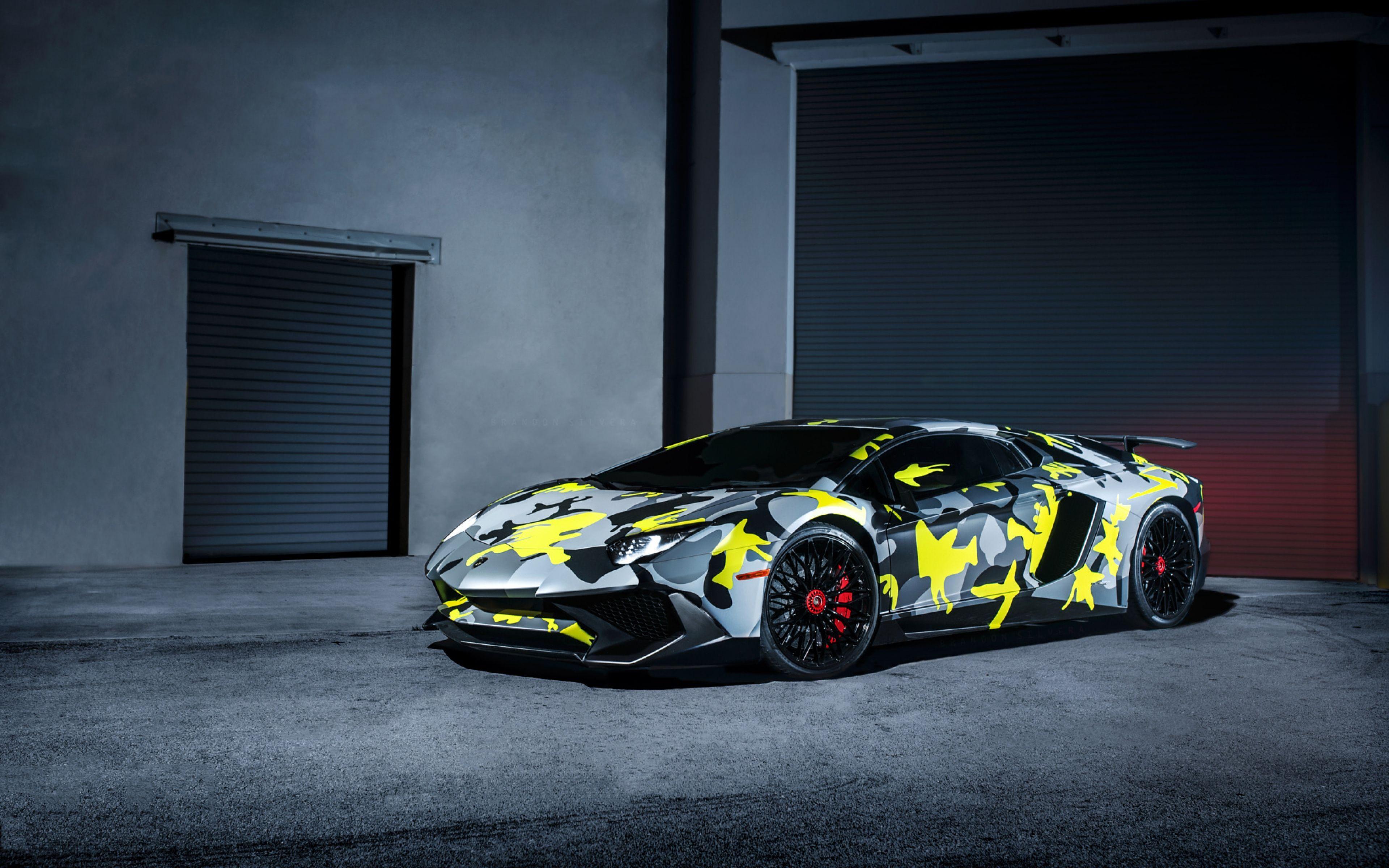 Colorful Lamborghini Wallpapers Wallpaper Cave