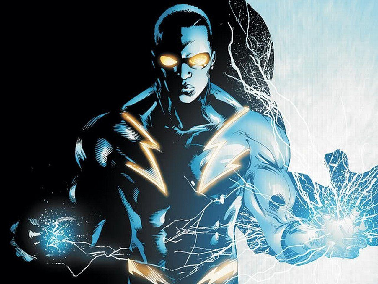 Black Lightning Wallpapers and Backgrounds
