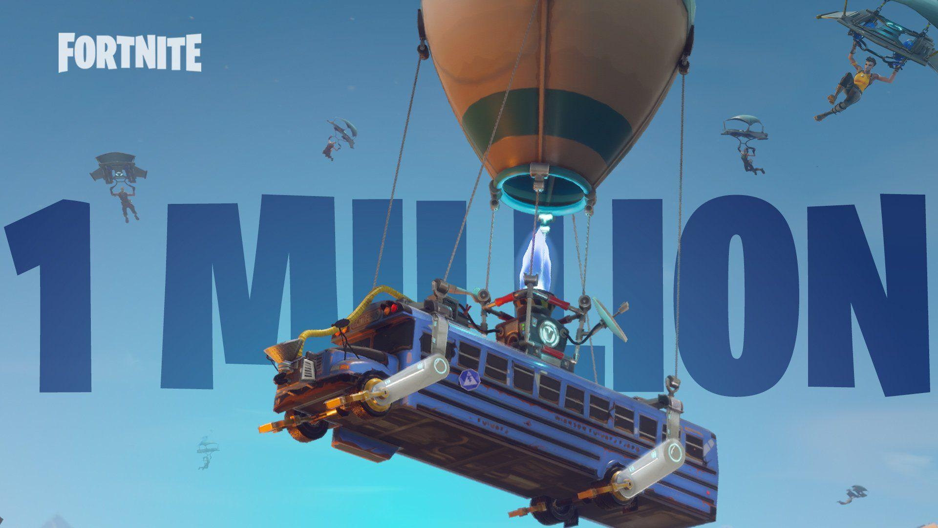 Fortnite: Battle Royale Reaches Over One Million Players in First