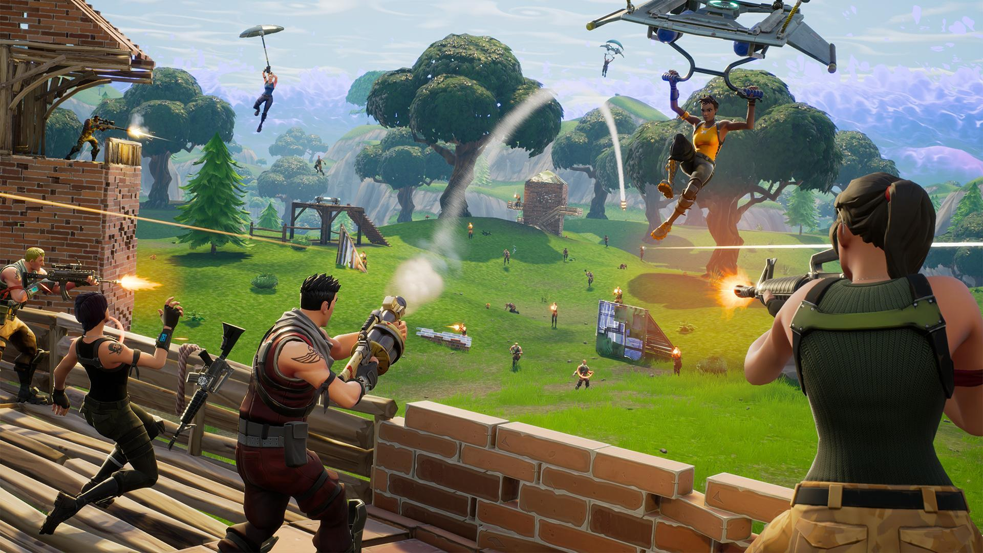 Fortnite Gets a Battle Royale Map Update with New Areas and Tidbits