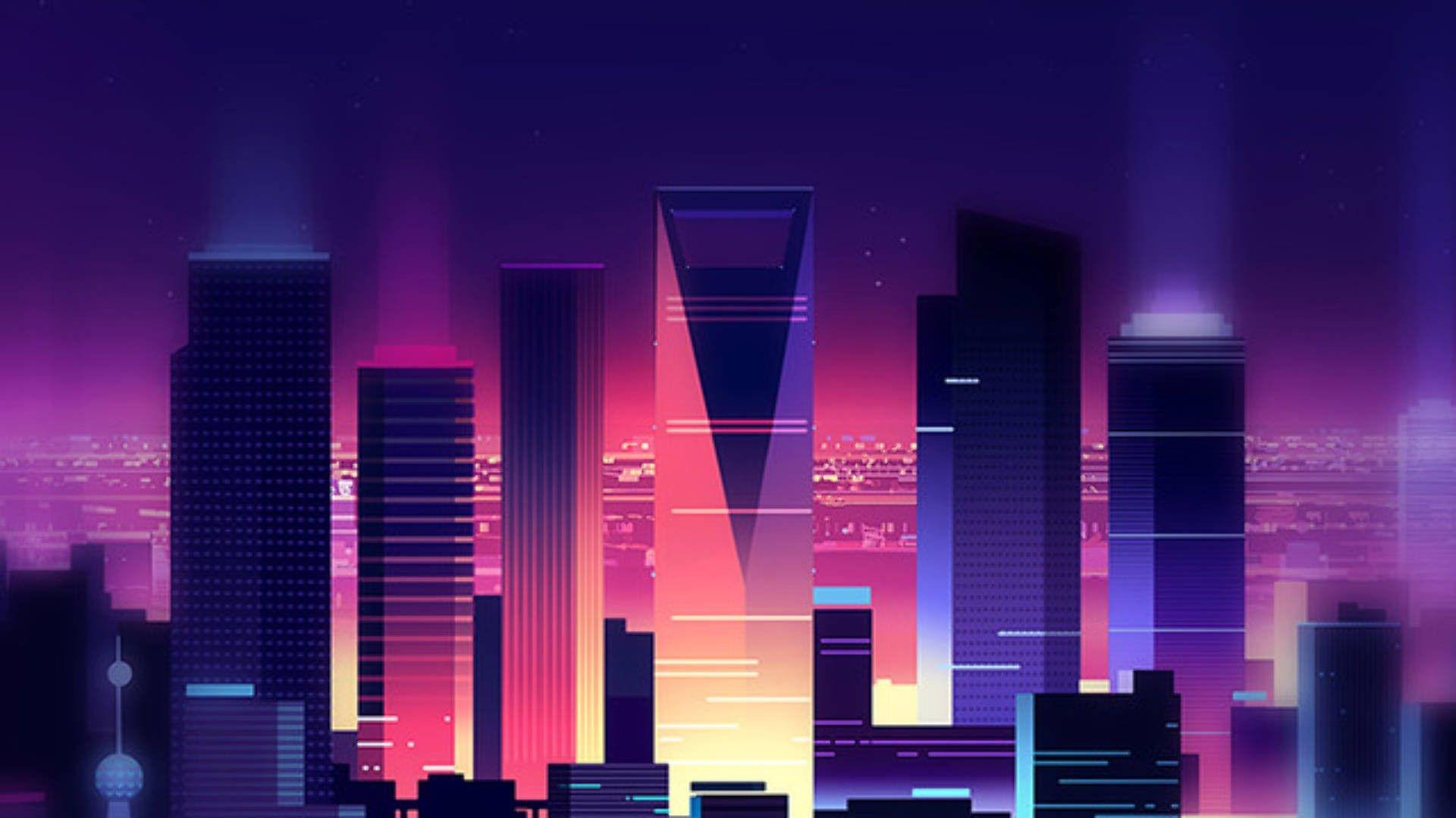 Synthwave wallpapers ·① Download free High Resolution wallpapers