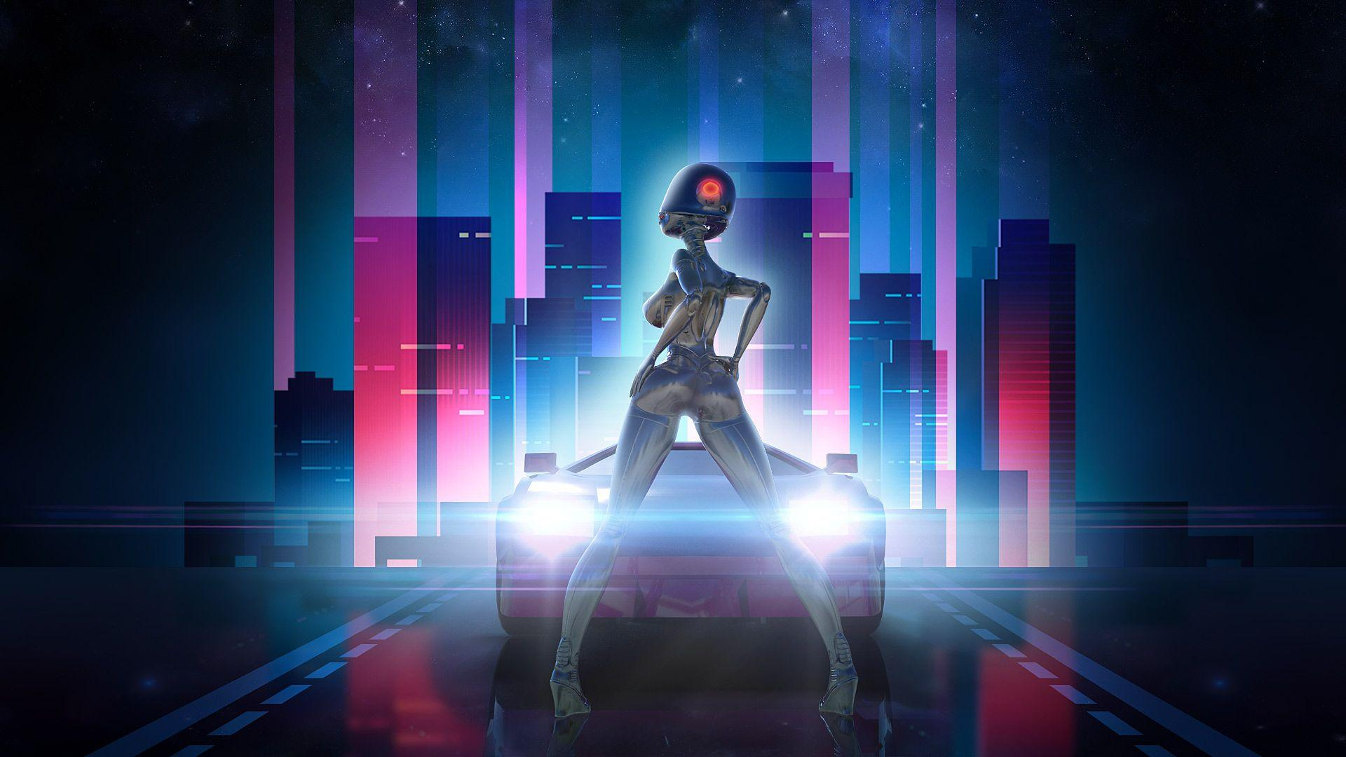 Neon Drive – Retro Synthwave