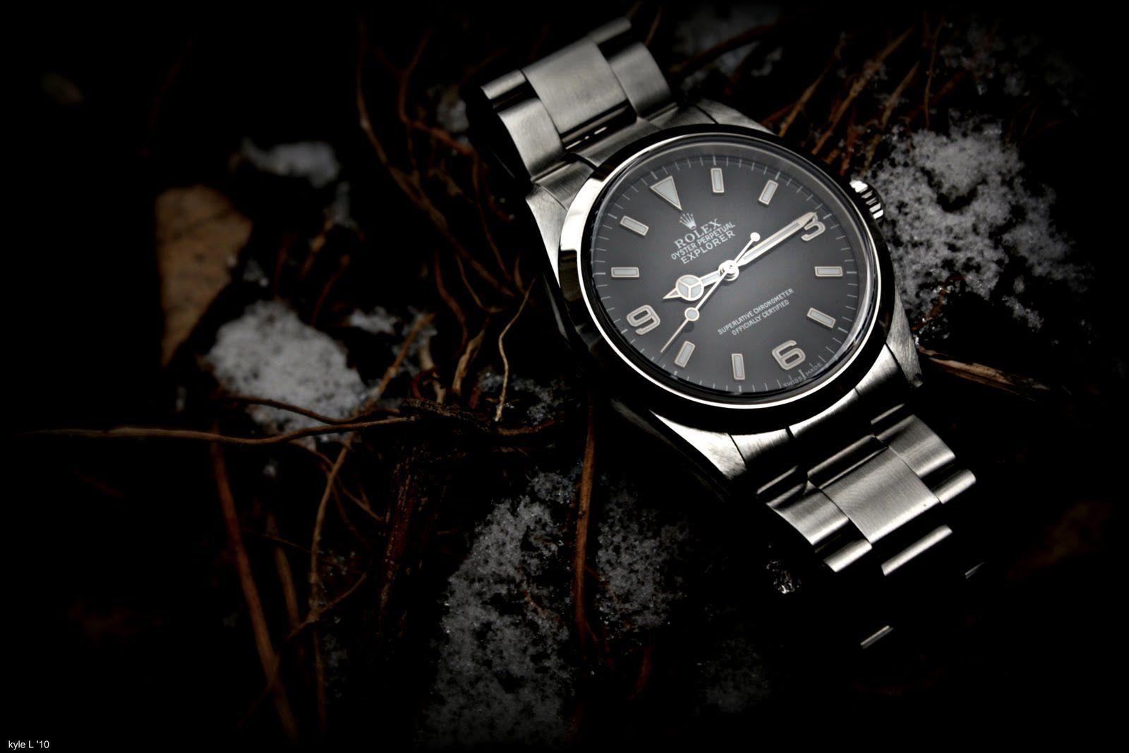 Kyle's Watch Wallpapers: Rolex Explorer 114270